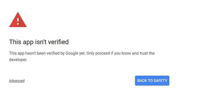 Error gmail signin